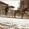 Old Horse Drawn Milk wagon and truck from hometown . Remember Milk delivery :-)