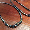 Carnival glass jewellery