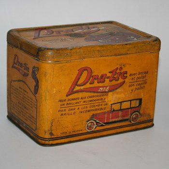 pra-tic polish car tin can