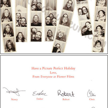 Flower Films 2001 Christmas card - Movies