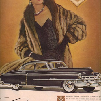 1950 Cadillac 1 Advertisement