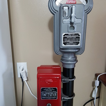 Duncan Miller Parking Meter Model 50 - Coin Operated