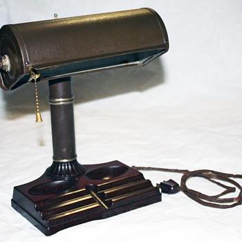 1940s Bakelite Banker's Lamp