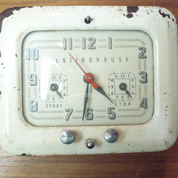 Westinghouse Electric Alarm Clock--Value???