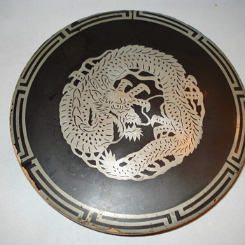 CHINESE DRAGON TRAY???????