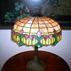 Wilkinson Leaded Art Glass Table Lamp c.1920's.