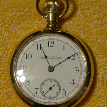 1892 American Waltham Watch Company - Pocket Watches