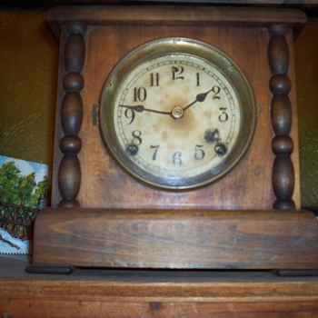 antique clock - Clocks