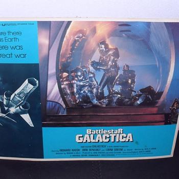 Battlestar Galactica mini poster.