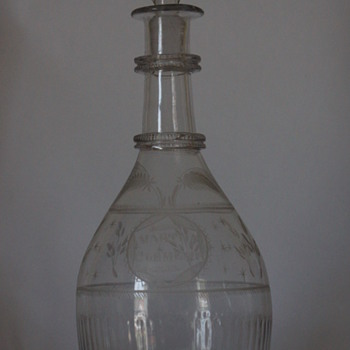 B. Edwards of Belfast Irish Decanter - Bottles