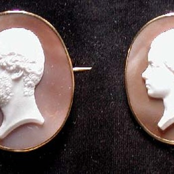 Fabulous family of cameo by Saulini - Victorian Era