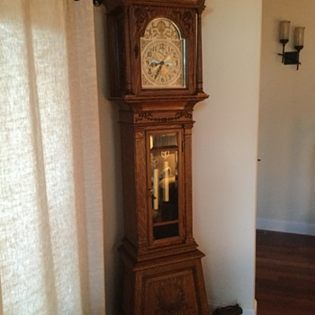 Seth Thomas Hall Clock