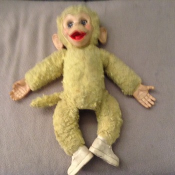 My stuffed monkey