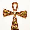 Vintage Alice Caviness Massive Ankh Brooch/Pin/Pendant