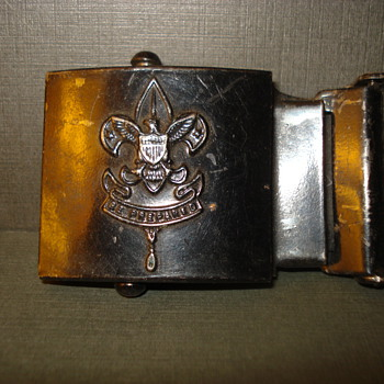 BOYS SCOUTS OF AMERICA BUCKLES