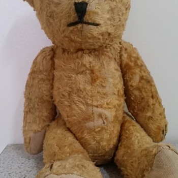 rescued teddy - Dolls