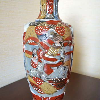 Satsuma Japanese Vase - Early 20th Century