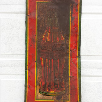 1932 Robertson Coca Cola Sign
