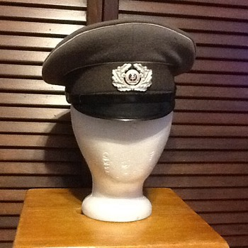 East German officers cap