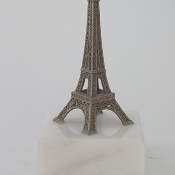 Two Eiffel Tower Archtectural Models - Advertising