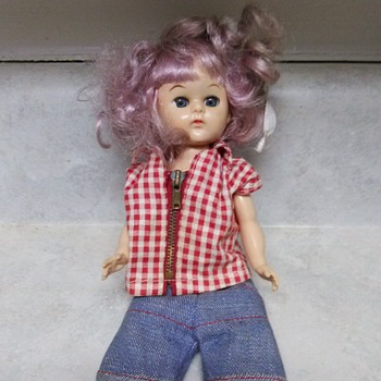 PURPLE HAIR VOGUE DOLL