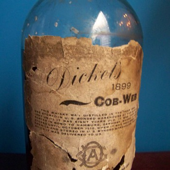 1899 Dickel's Cob-Web Whiskey