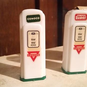 Vintage salt and pepper shakers.