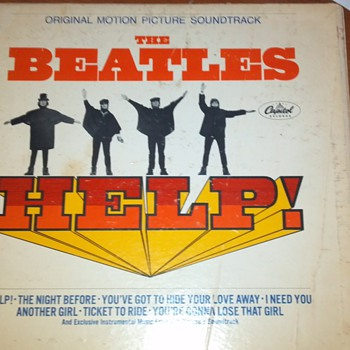 Beatles Help Vinyl Record