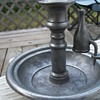 my collection Spanish pewter candle holders 