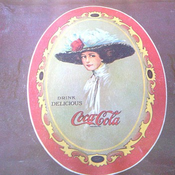 Lady Victorian Prints? - Coca-Cola