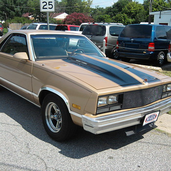 Grand National powered El Camino blazes 1/4 mile with alcohol injection...