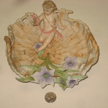 Porcelain Bowl with a Child