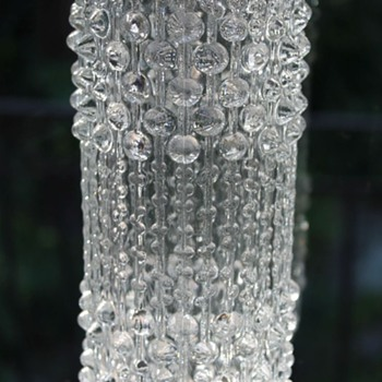 Peceny for Hermanova Hut Vase - Art Glass