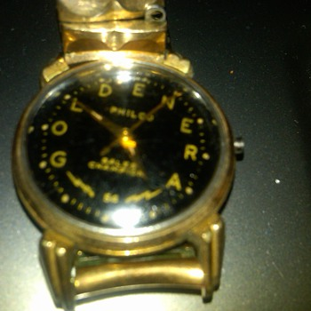 Philco &quot;goldenera&quot;  wrist watch