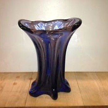 Art Glass Vase -- For a Friend