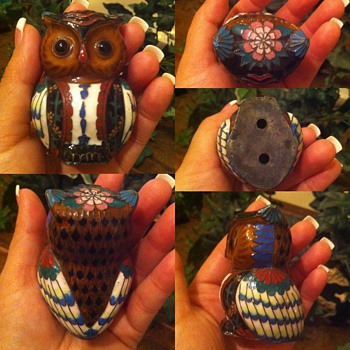 Owl figurine  - Animals