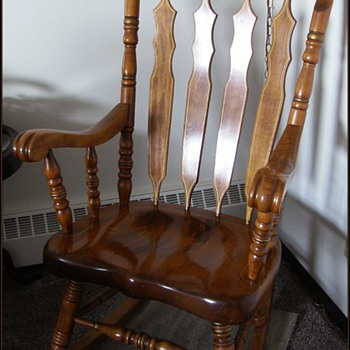 My 1970's Rocking Chair -- SEARS - Furniture