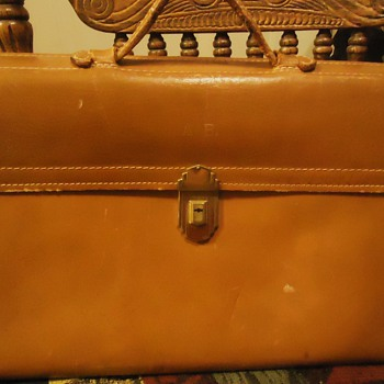 1950's briefcase,  unusual story?!