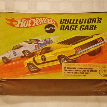1969 Hot Wheels Redline Carrying Case