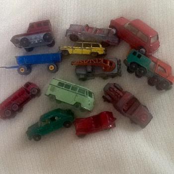 Vintage metal cars  - Model Cars