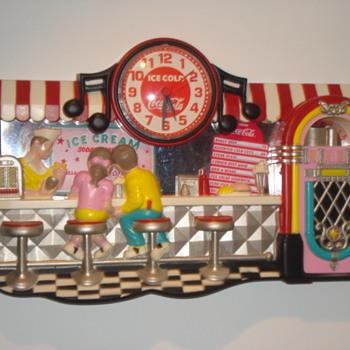 Vintage Coca Cola Clock - Coca-Cola