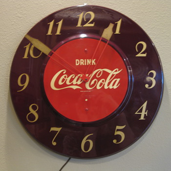 Coca Cola Clocks