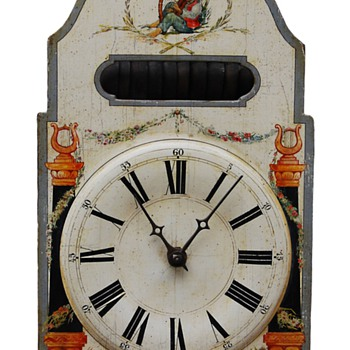 Rare Black Forest Musical Carillion Clock 6 tunes on 11 Bells C. 1820