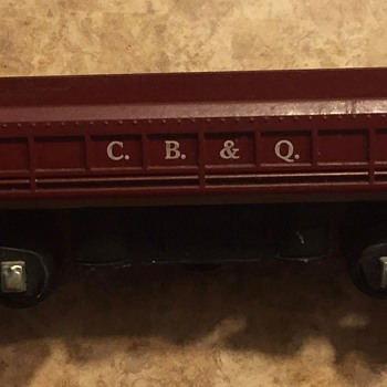 American Flyer CB&Q 719 - Model Trains