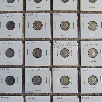 A Few More Metal Detector Finds Over The Years - US Coins