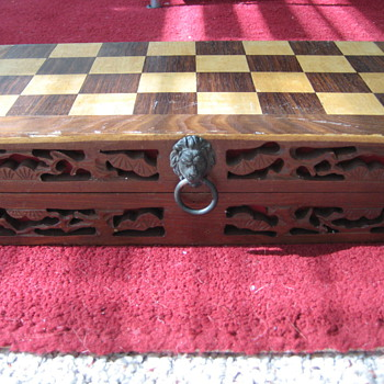 Vintage Korean Chess Set - Games