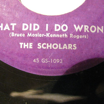 "One of ""Kenneth"" Rogers early recordings"