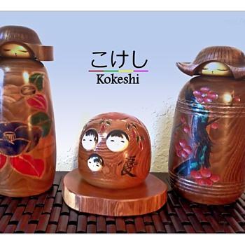 Kokeshi by Miyajima Muhitsu