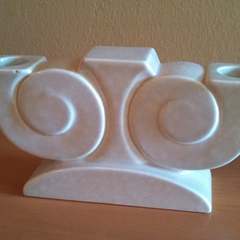 Art Deco Poole Pottery Candle Holder