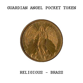 Guardian Angel Pocket Token - Medals Pins and Badges